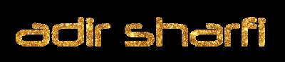 לוגו אדיר שרפי